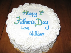 1st Father's day cake